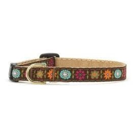 UP COUNTRY UP COUNTRY BELLA FLORAL DOG COLLAR XS