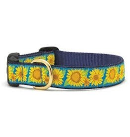 UP COUNTRY UP COUNTRY BRIGHT SUNFLOWER DOG COLLAR L