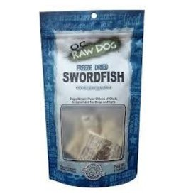 OC RAW OC RAW FREEZE DRIED SWORDFISH TREAT 3.2 OZ