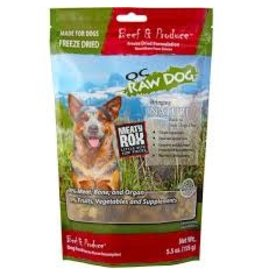 OC RAW OC RAW BEEF ROX DOG FOOD 3 LBS BAG