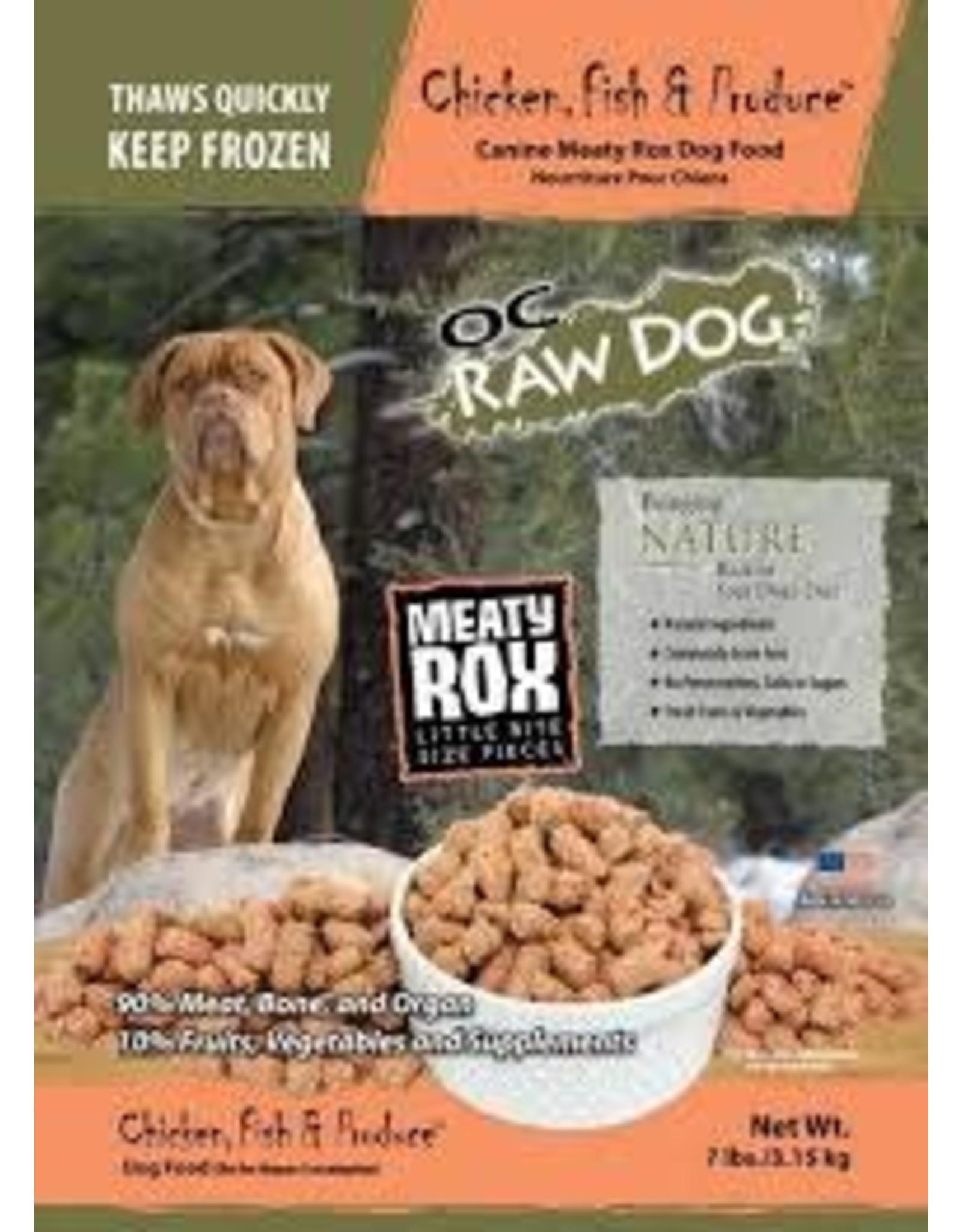 OC RAW OC RAW CHICKEN ROX DOG FOOD 3 LBS. BAG