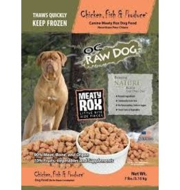 OC RAW OC RAW CHICKEN ROX DOG FOOD 3 LBS. BAG