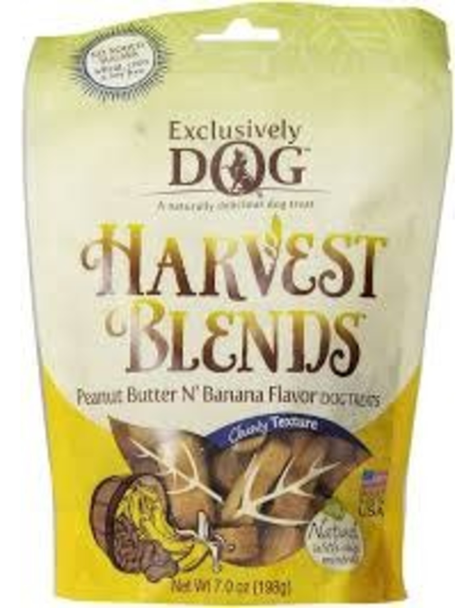 HARVEST BLENDS HARVEST BLENDS PEANUT BUTTER AND BANANA CHEWY TREATS