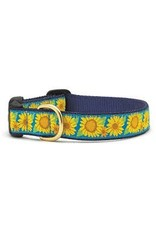 UP COUNTRY UP COUNTRY BRIGHT SUNFLOWER DOG COLLAR MED WIDE