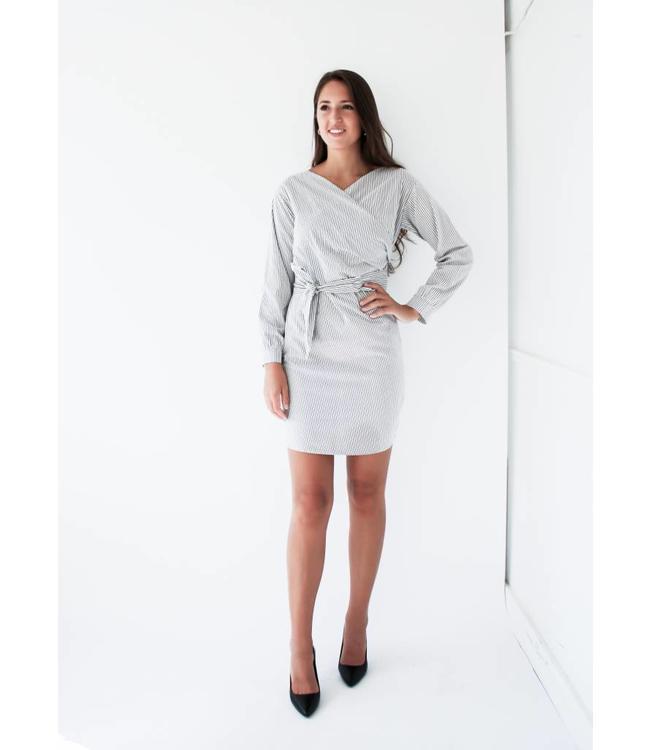GENTLE FAWN OPHELIA DRESS - 8340 - STRIPE