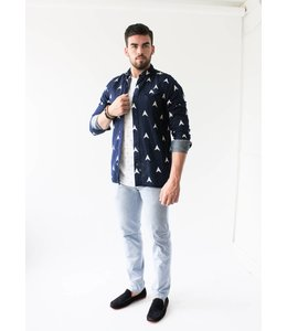 SCOTCH AND SODA PURE SHIRT - 156 - NAVY