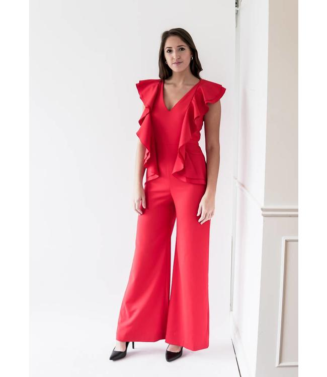 CAMEO YOU OR ME JUMPSUIT - 860 - CHERRY