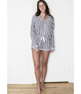 RAILS LS SHORT SET - 669 - ALBANY STRIPE