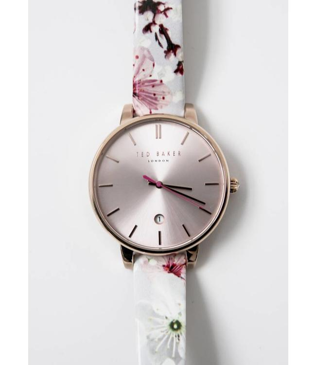TED BAKER WATCH STRAP PINK FLOWER - 1541- OS