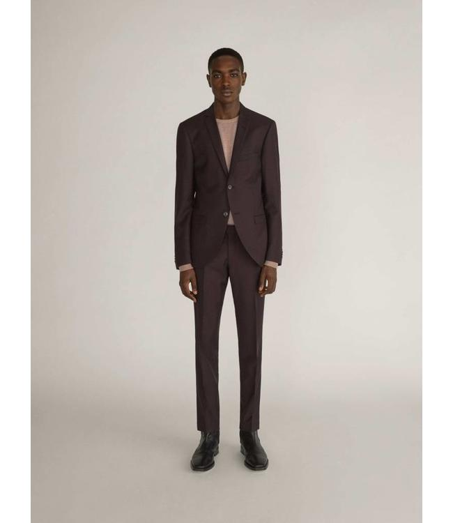 TIGER OF SWEDEN SJILE WOOL SUIT - 3001 - PLUM
