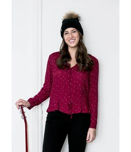 RAILS BEAUX SHIRT - 886 - ROUGE DOT