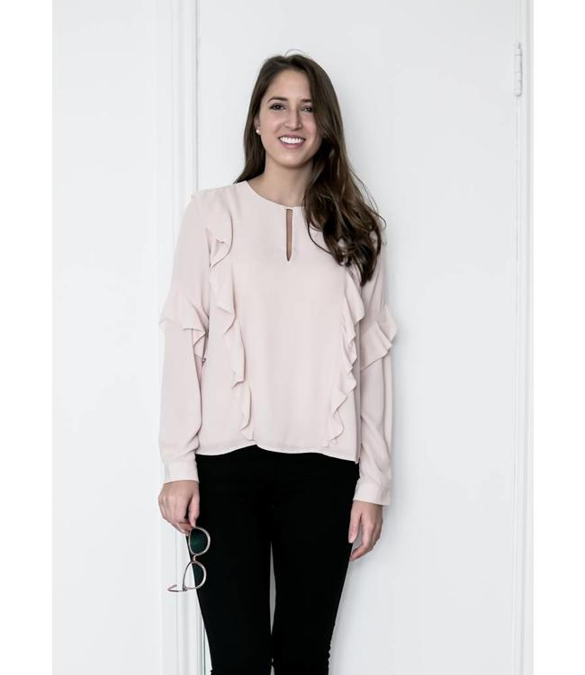 GREYLIN OLYMPIA BLOUSE - 5909 - ROSE