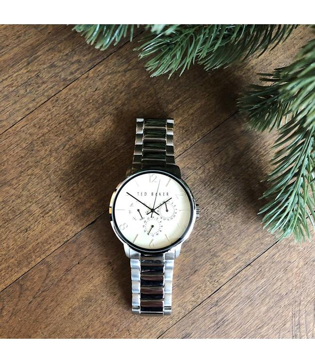 TED BAKER BASIC WATCH - 3494 - SILVER IVORY