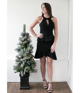 ADELYN RAE COLLEEN DRESS - 3333 - BLACK