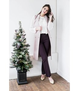 TIGER OF SWEDEN NIVE2 PANTS - 2004 - PLUM