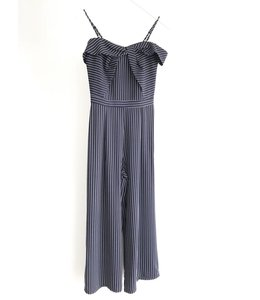 ADELYN RAE EMRATA JUMPSUIT - 1773 - NAVY STRIPE