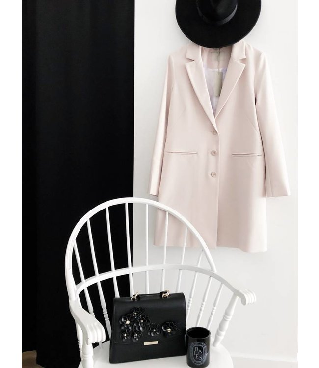 BARTHA COAT - PEARL