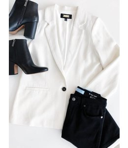 GREYLIN MADISON BLAZER - 300 - WHITE