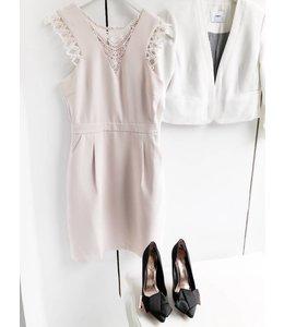 SUNCOO COPPELIA DRESS - 316 - NUDE