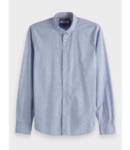 SCOTCH AND SODA BLUE SHIRT - 148851 -