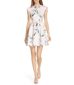 TED BAKER KARSALI DRESS - PASTEL FLOWERS