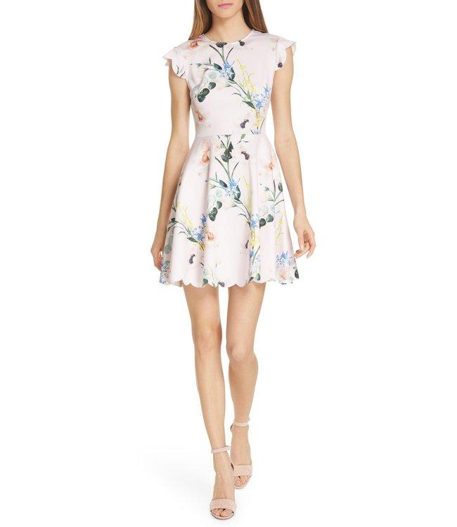 TED BAKER KARSALI DRESS - PASTEL FLOWERS