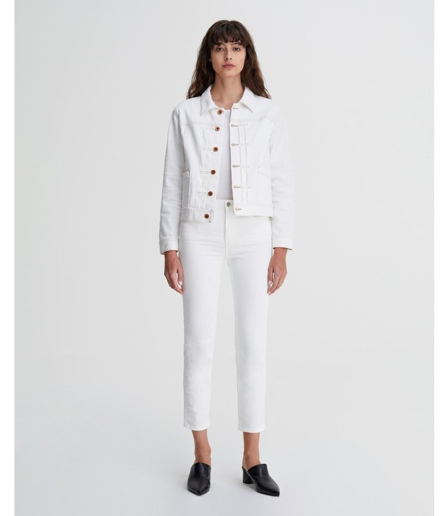AG JEANS THE ISABELLE JEANS - WHITE