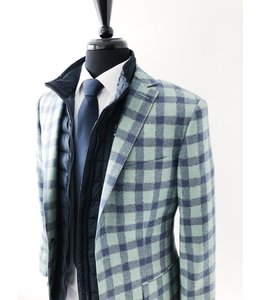 GLORIUS KL CUSTOM BLAZER - GREEN-BLUE