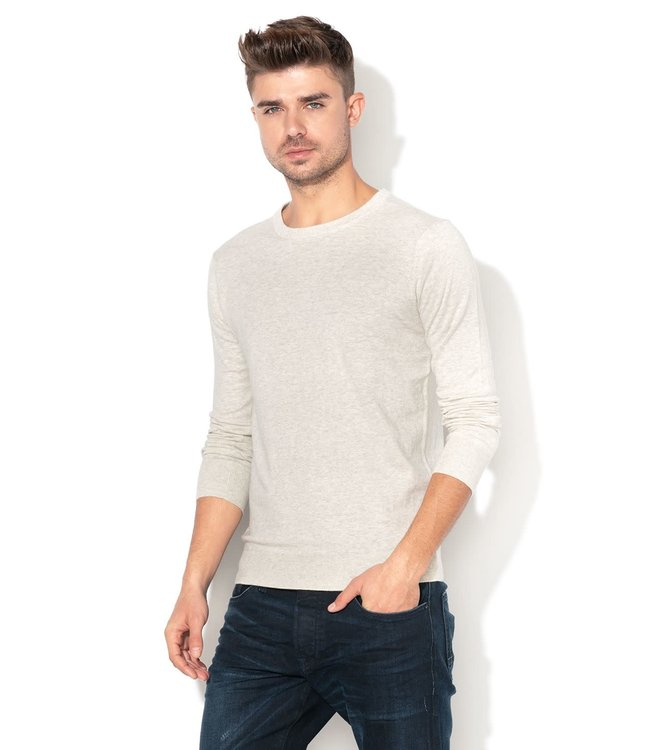 SCOTCH AND SODA BASIC CREWNECK  - 145619 GREY