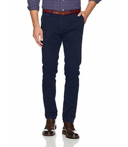 SCOTCH AND SODA CHINO PANTS - 896 - NAVY