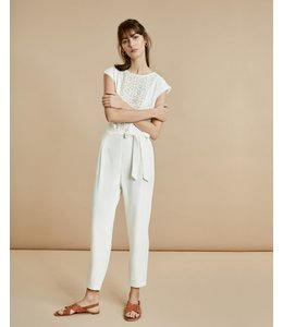 SUNCOO TOM JUMPSUIT - 5475 - BLANC