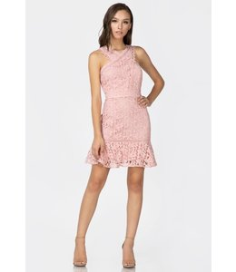 ADELYN RAE JESSIE LACE DRESS - 4183 - BLUSH