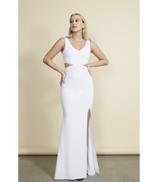 KIIRA GOWN - WHITE -