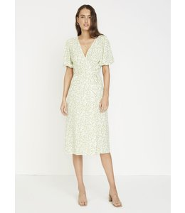 MARTA MIDI DRESS - BELLA GREEN