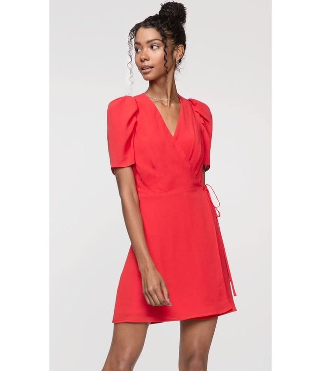 GREYLIN DANIELLE WRAP DRESS - 3771 - RED
