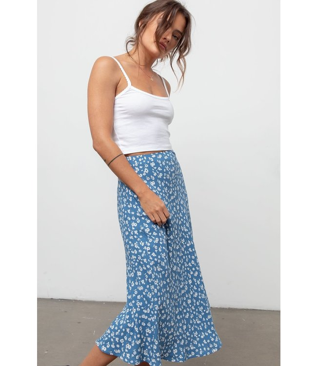 RAILS LONDON SKIRT - BLUE DAISY