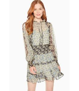 PARKER PAISLEY DRESS - PCF - BLOSSOM STRIPE
