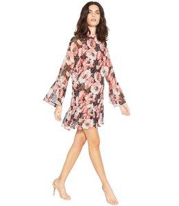 MISA BLYTHE LS DRESS - FLORAL