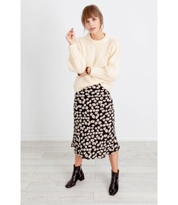 RAILS LONDON MIDI SKIRT - BLACK DAISIES