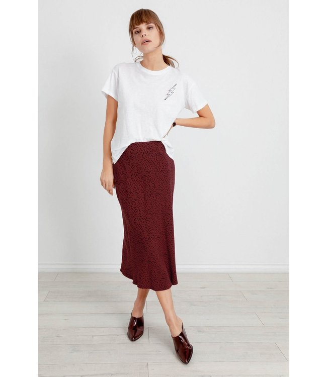 RAILS LONDON MIDI SKIRT - RUST SPOT
