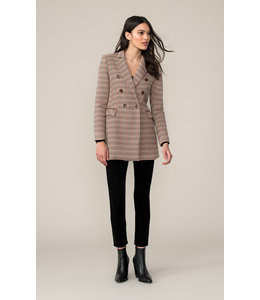 SOIA & KYO FABRIANA - H COAT - HONEY
