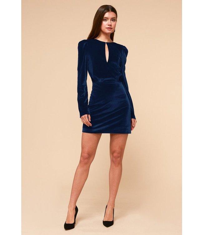 ADELYN RAE STELLA DRESS - 4379 - NAVY