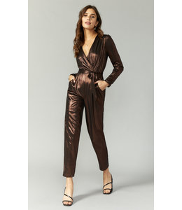 GREYLIN LAME JUMPSUIT - 5934 - COPPER