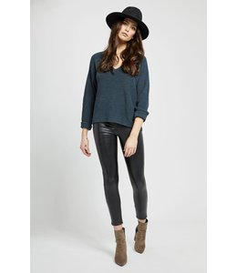 GENTLE FAWN TUCKER SWEATER - 3672 -
