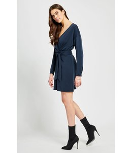 GENTLE FAWN COLTRAIN DRESS - 8430 - NAVY