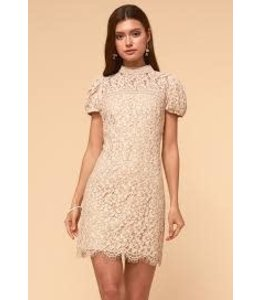 ADELYN RAE KAIA DRESS - 4380 - CREAM