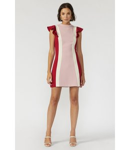 ADELYN RAE KEELY DRESS - 4528 - CHERRY