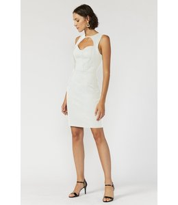 ADELYN RAE LEONI DRESS - 4536 - WHITE