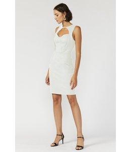 LEONI DRESS - 4536 - WHITE
