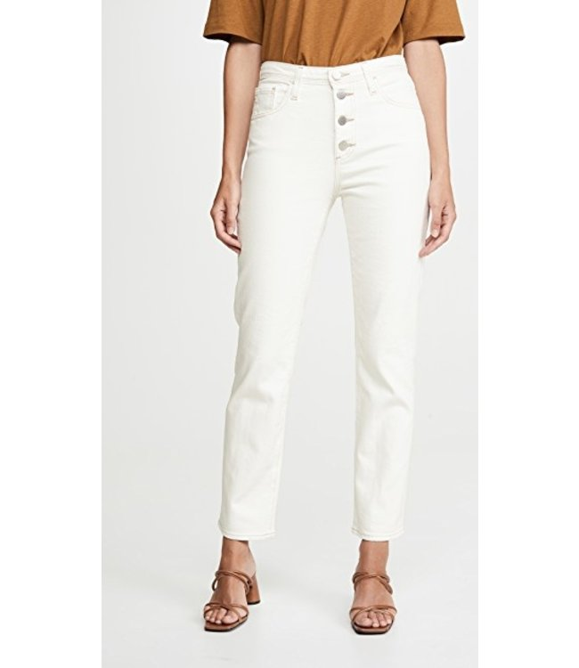 AG JEANS ISABELLE BUTTON - MODERN WHT -
